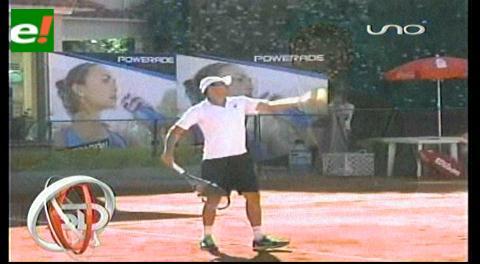 Tenis Future: Bolivianos pasan a cuartos