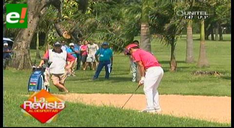 Golf Open Mitsuba: MacLean sale certero y puntea