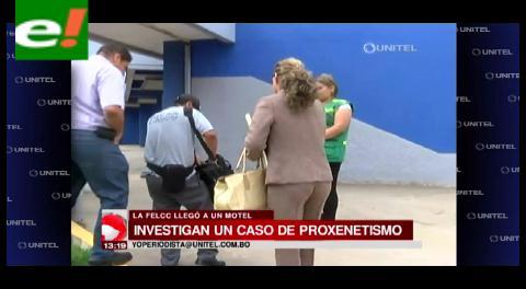 Inspeccionan motel en Montero por caso de proxenetismo