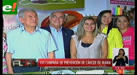 Inició la XVI campaña de prevención de cáncer de mama