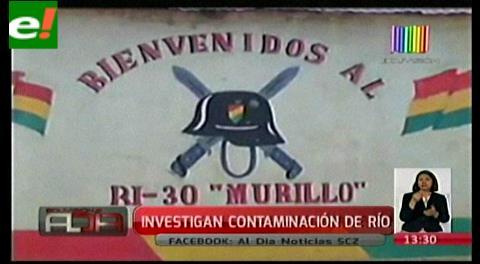 Investigan posible contaminación de aguas que intoxicaron a 12 militares