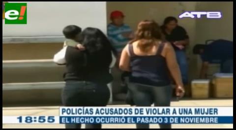 Detienen a dos policías acusados de violación y complicidad