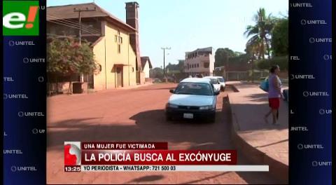 Buscan al ex esposo de empresaria asesinada en San Matías