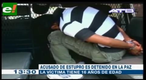 Detienen sujeto acusado de engañar y mantener relaciones sexuales con su sobrina de 16 años