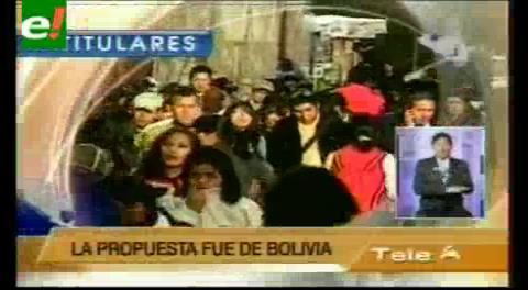 Titulares de TV: Ama Sua, Ama Llulla y Ama Quella son ahora principios de las Naciones Unidas