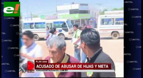 Anciano es acusado de abusar de sus hijas y de su nieta