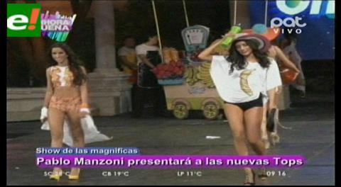 Show de Las Magníficas: Pablo presentará las nuevas Top
