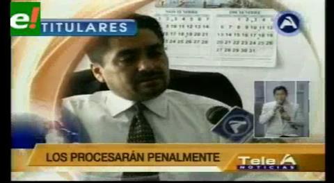 Titulares de TV: Destituyen a dos jueces y un fiscal tras publicación de video de extorsión