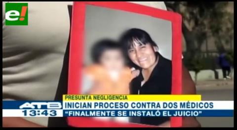Comenzó juicio contra dos médicos de la CNS acusados de negligencia médica