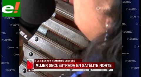 Secuestran a una comerciante en Satélite Norte