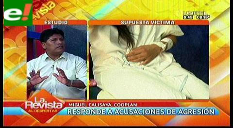 Miguel Calisaya de Cooplan responde a acusaciones de agresión