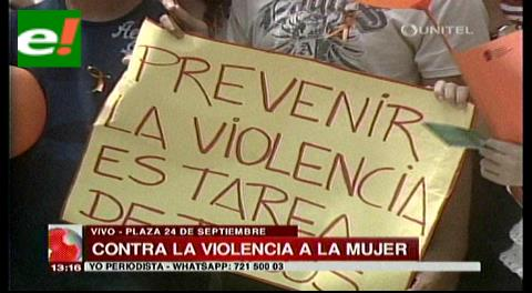 """""""Chau violencia"""" campaña contra la violencia a la mujer"""