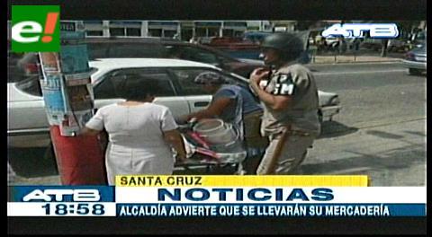 Alcaldía desalojó ambulantes asentados en el Palacio de Justicia