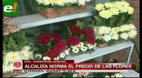 Alcaldía norma el precio de las flores