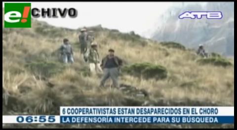 Afirman que aún hay 6 cooperativistas mineros desaparecidos en El Choro