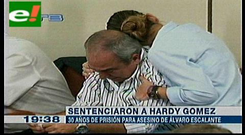 Treinta años para Hardy Gómez