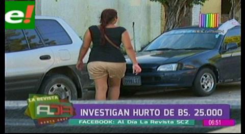 Investigan menores por hurto de 25 mil bolivianos