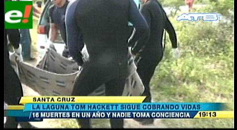 La laguna Tom Hackett sigue cobrando vidas