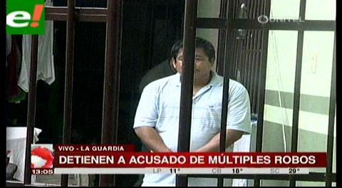 Detienen a sujeto acusado de múltiples robos