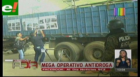Mega operativo: incautan inmuebles donde se acondicionaban vehículos para traficar droga