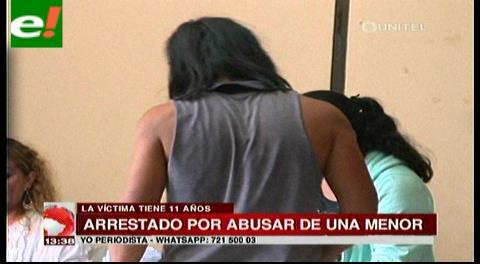 Abusador de niña de 11 años se defiende y alega que la menor es su novia