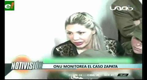Titulares de TV: Naciones Unidas monitorea el caso Zapata, delegado afirma que hacen gestiones todos los días