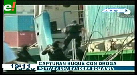 Turquía decomisa 13 toneladas de droga en un barco con bandera boliviana