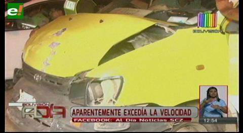 Santa Cruz. Otro accidente en la avenida Virgen de Cotoca