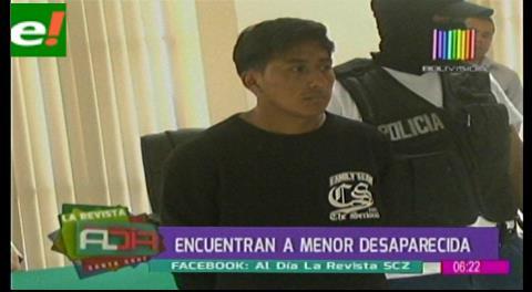 Menor desaparecida en La paz fue encontrada en Santa Cruz