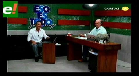 Valverde y Justiniano analizaron presiones contra eju.tv