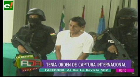 Presentan ciudadano ecuatoriano con orden de captura internacional por asesinato