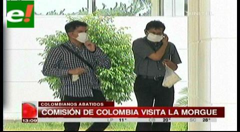 Comisión de Colombia visita la morgue