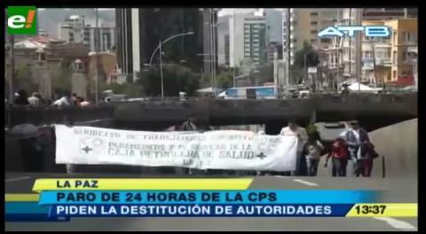 Trabajadores de la CPS anuncian paro nacional exigiendo destitución de autoridades