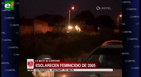 Santa Cruz. Felcc esclarece el feminicidio de 2005 y buscan a cómplices prófugos
