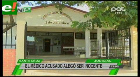 Médico acusado de abuso alegó ser inocente