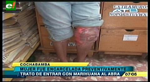 Cochabamba. Caen al tratar de ingresar droga al penal