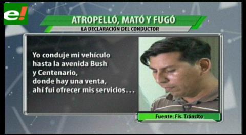 Capturaron al conductor que atropelló y mató a una funcionaria municipal