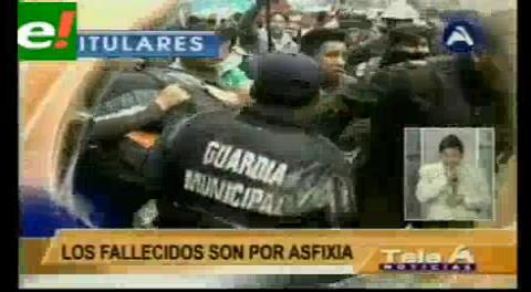 Titulares de TV: Alcaldesa Chapetón declara duelo de 30 días por la tragedia