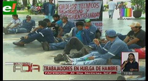 Trabajadores industriales radicalizan sus medidas de protesta