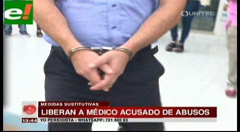 Liberan a médico acusado de abusos