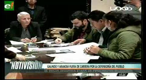 Titulares de TV: Varios postulantes a la Defensoría del Pueblo son inhabilitados por no hablar un idioma nativo