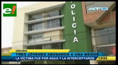 Tres jóvenes abusan sexualmente a una menor de 16 años en Pisiga