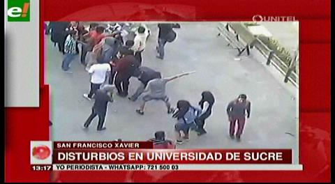 Disturbios en Universidad de Sucre