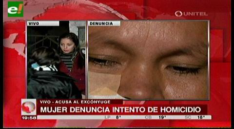 Mujer denuncia intento de violación y homicidio