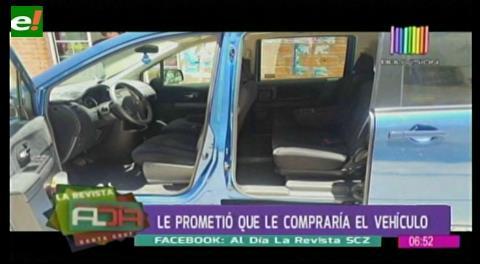 Falso pasajero roba vagoneta a un taxista