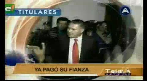 Titulares de TV: Eduardo León no puede dejar las celdas judiciales por problemas en el sistema de arraigo y falta de custodios