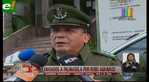 Mandan a Palmasola a cuatro extranjeros por robo agravado