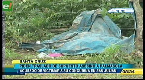 Piden traslado de supuesto asesino a Palmasola