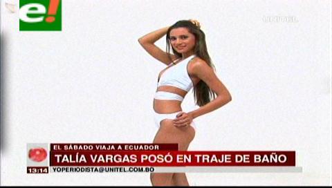 Talía Vargas rumbo a concurso internacional