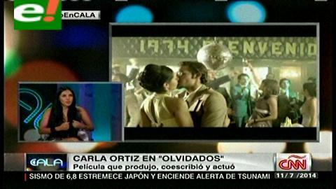 """Carla Ortíz promociona """"Olvidados"""" en CNN"""